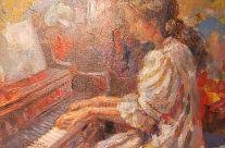 Piano Girl by Emmanuelle Nim