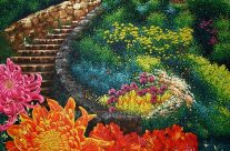 Garden Stairways to Eden by Rhea dela Rosa