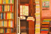 Shakespeare and Company Antiquarian Bookstore by Rollie Yusi
