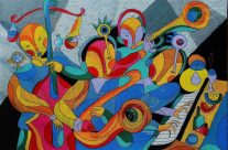 Passion for Jazz by Monnar Baldemor