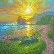 The Golden Light (Batanes) by Melencio Sapnu Jr.