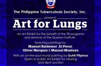 Art for Lungs: Philippine Tuberculosis Society – August 16, 2017