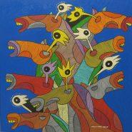 8 Galloping Horses by Monnar Baldemor